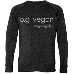 og vegan uni sweatshirt
