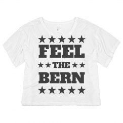 Feel The Bern USA Crop Top
