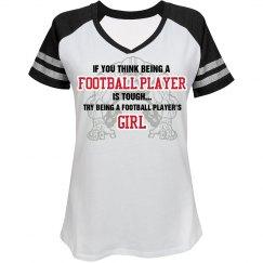 Football Player's Girl