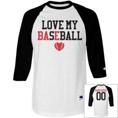 Love My Bae Baseball