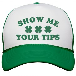 Show Me Your Tips St Pattys Hat