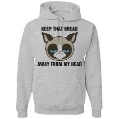 A Grumpy Cat Bread Head