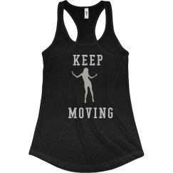 Keep Moving Tank Top