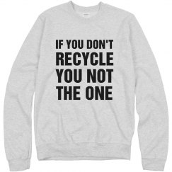 Don't Recycle? You Not The One