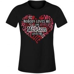 Love me like Milton