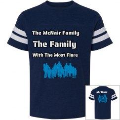 Kids McNair Family VIntage Tees