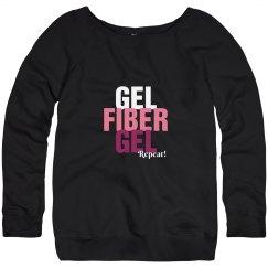 gel fiber gel repeat younique sweatshirt