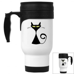 Cool Kitty Travel Mug