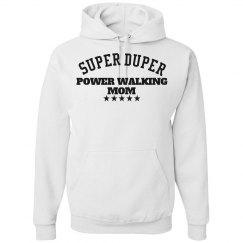 Power walking mom