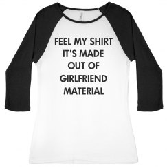 Girlfriend Material Black