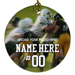 Custom Football Photo Gift