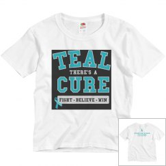 Teal Cure-Kids