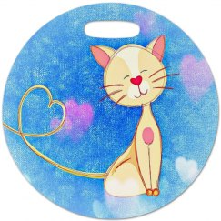 Cute Love Cat Luggage Tag