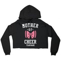 Custom Cheer Mom Sporty Sweatshirt