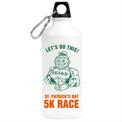 St. Patrick's Race Bottle