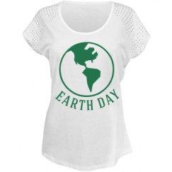 Earth day shirt.