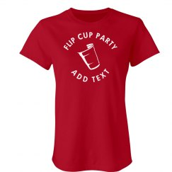 Flip Cup Party Tee