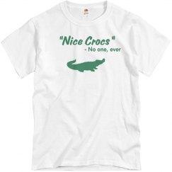 Nice Crocs Tee