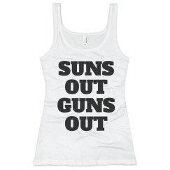 Suns Out Guns Out Tank