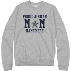 Custom Proud Air Force Mom