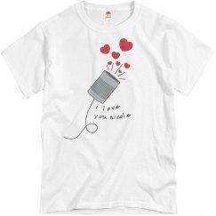 String Can Phone Love Him