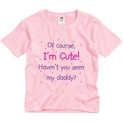 Cute Like Daddy Pink