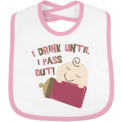 Baby Girl Drink Until Pass Out