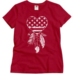 American Dreamcatcher Heart