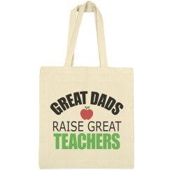 Great Dads Raise Great Teachers