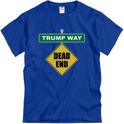 Trump Way Dead End