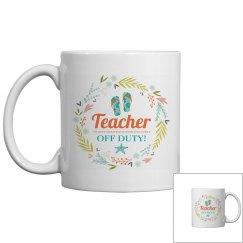 Teacher Off Duty Summer Vacation
