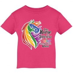 Rainbow Horse of Different Color
