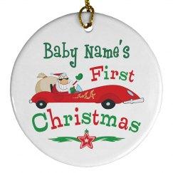 Racing Santa 1st Christmas