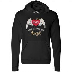 Mom Mother's Day - Tattoo Heart Wings Angel