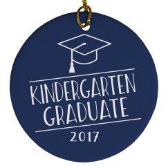 2017 Kindergarten Graduate Graduation Ornament