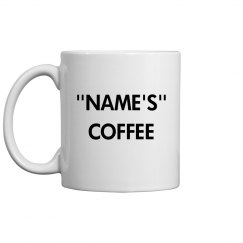 Your name coffee