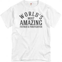 Father and firefighter