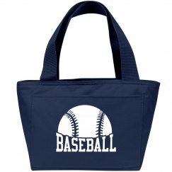 BASEBALL LUNCH TOTE