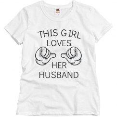 Girl loves her husband