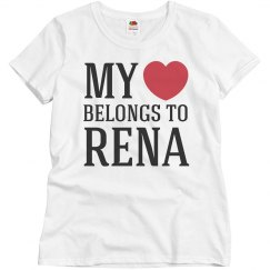 Heart belongs to Rena
