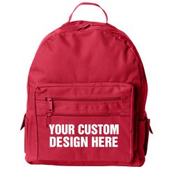 Custom Backpack Black