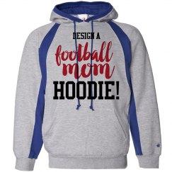 Custom Football Mom Hood