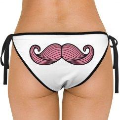 Buttstache Mustache