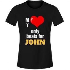 Heart beats for John