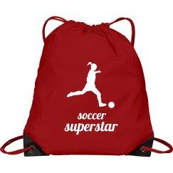 soccer superstar drawstri
