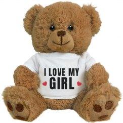 I Love My Girl Cute Anniversary