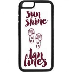sunshine & tanlines