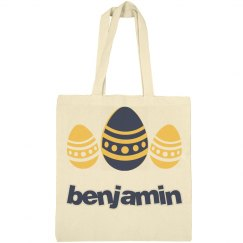 Personalized Easter Egg Hunt Bag