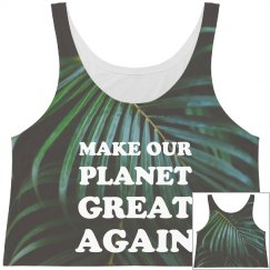 Make Earth Great All Over Print