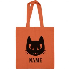 Custom Name Halloween Candy Bag